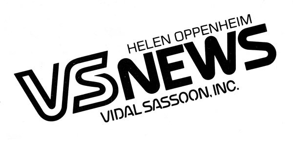 Vidal Sassoon News Logo - 1979 to 1981