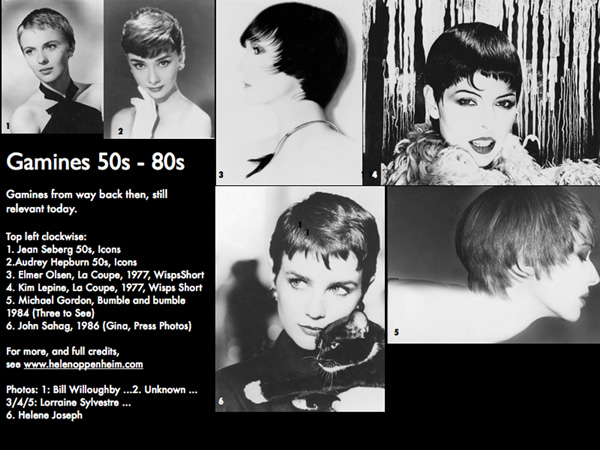 Gamines 50s to 80s