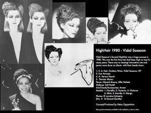 Vidal Sassoon's HighHair - 1980