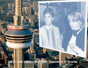 Vidal Sassoon Helen Oppenheim Toronto - 1981