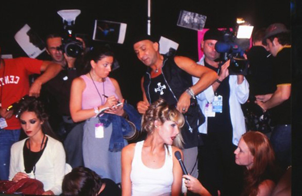 Backstage Scene @ NY Fashion Week - 2004
