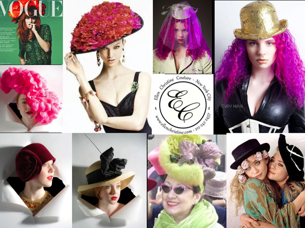Ellen Christine Couture Hats - 2000s