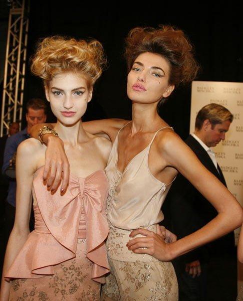 50s Glam @ Badgley Mischka - Spring 2012
