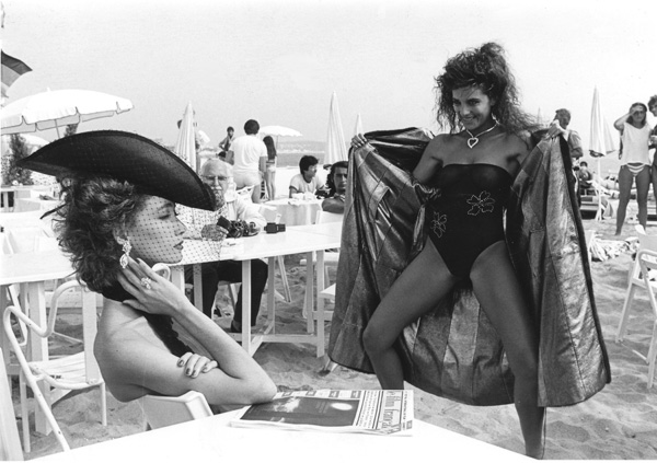 Helmut Newton Book, Beach - 1984