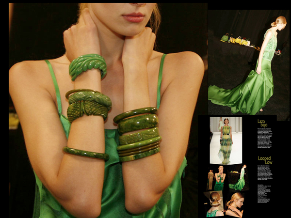 Bangles @ Carolina Herrera - Spring 2012