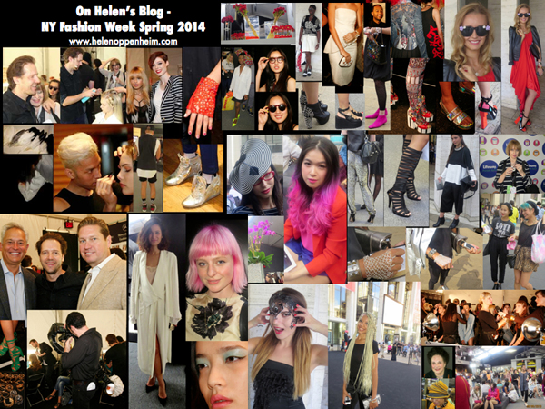Scene NY Fashion Week Helen's Blog - for 2014