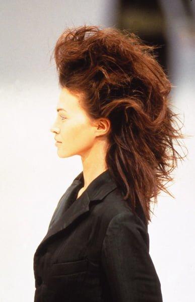 Windswept Hair, Sahag, Issey Miyake - 1997