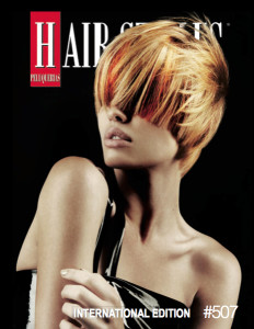 Peluquerias Magazine Cover – January 2014