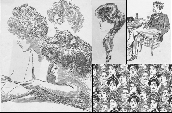 Illustrations: Charles Dana Gibson