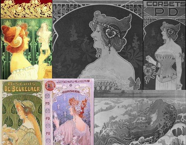 Art Nouveau Hair and Fashion Ideas - 1897-19-1