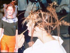 John Sahag Abstract Hair @ Issey Miyake – 1996