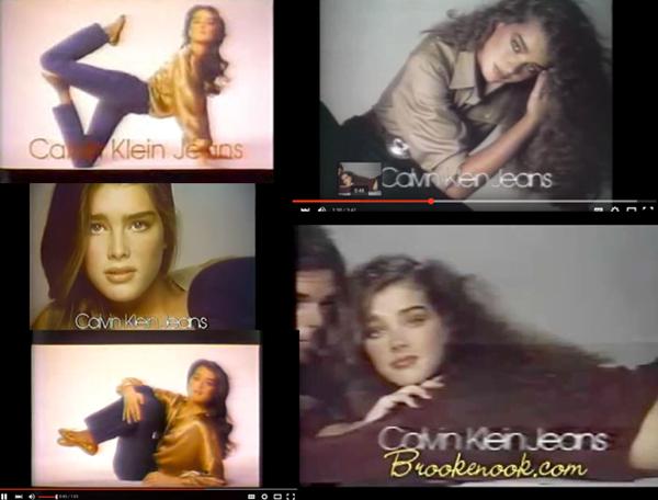 Brooke Shields @ 15 in Calvin Klein Jeans - 1980