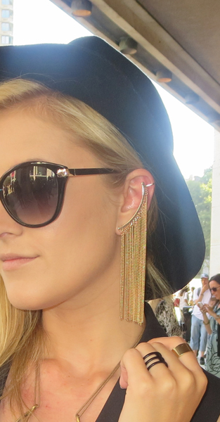 Seen on Scene, Stunning Ear Cuff – 2014