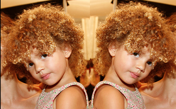 Tiny Tot Tight Curls @ NY Fashion Week – 2015