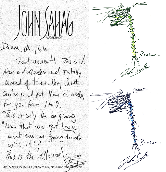 Sketches by John Sahag