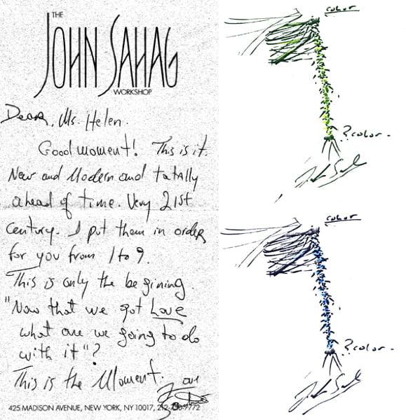 Sketches by John Sahag