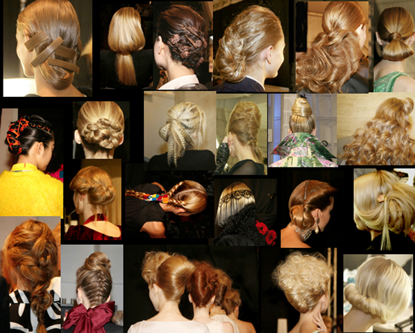 Back Views of Fab Hair @ Fashion Weeks - 2000s