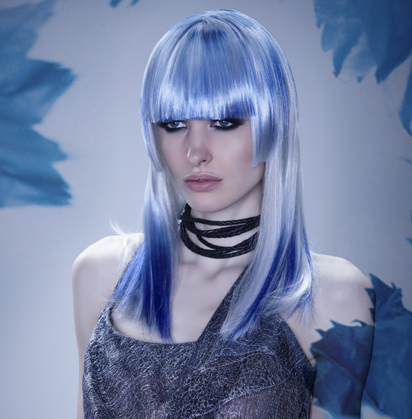 Moody Blue Hair in Hues of Blue– 2014