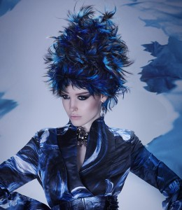 Hair Hat Stunner in Moody Blues - 2014