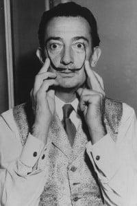 Salvador Dali's Famous Moustache – 1960s