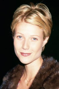 Gwyneth Paltrow Short Hair by John Sahag - 1997
