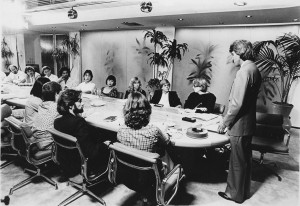 Sassoon Creative Board Meeting - 1980