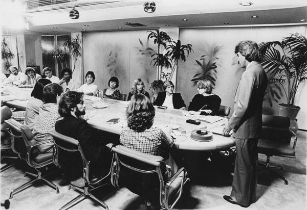 Vidal Sassoon Creative Board Meeting  - 1980