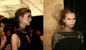 Tulle Froths On Heads For Drop Dead Entrances – 2011