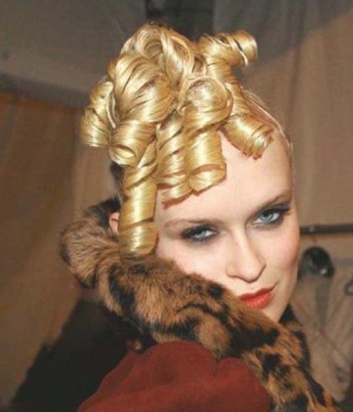 Betty Grable Curls Modernized – 2008