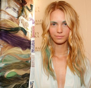 Subtle Hair Color Extensions @ Badgley Mischka – 2015