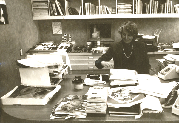 Helen At Her Vidal Sassoon Office – 1981