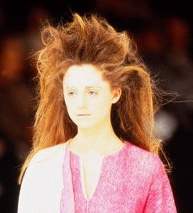 Windswept Hair @ Issey Miyake – 1997