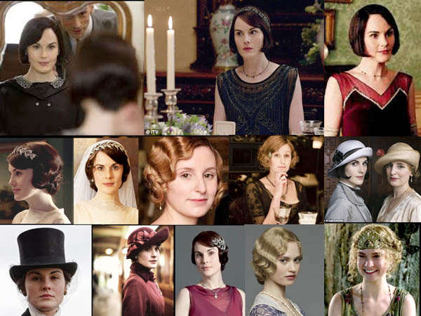 Downton Abbey, Bobbed Hair At Last! -  2015