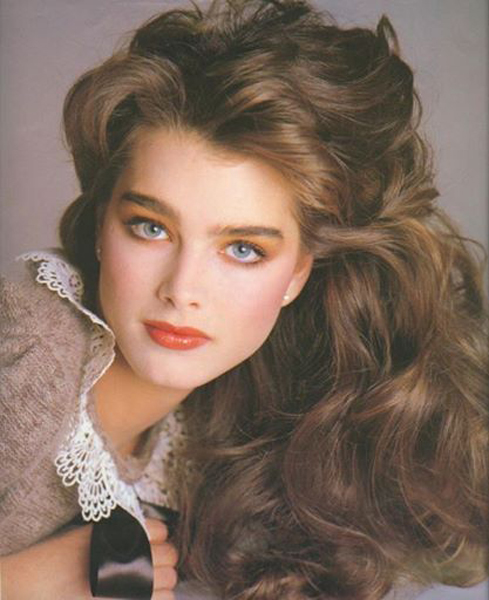 Brooke Shields Hair by John Sahag - 1980