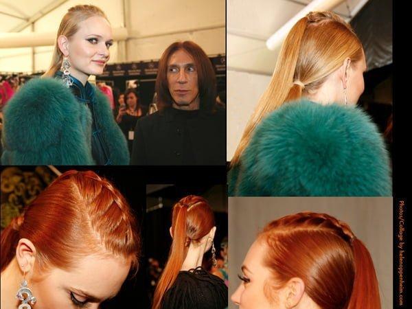 Edward Tricomi Hair For Mongolian Fashions - 2015