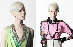 Hair Color Chalking - 2013