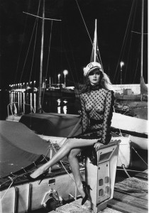 Scintillating Stylish Helmut Newton in Saint Tropez – 1980