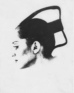SPACE AGE HAIR SCULPTURE - 1969