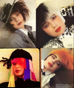 Isabella Rosselilini With Madly Chic Hair by John Sahag – '80s
