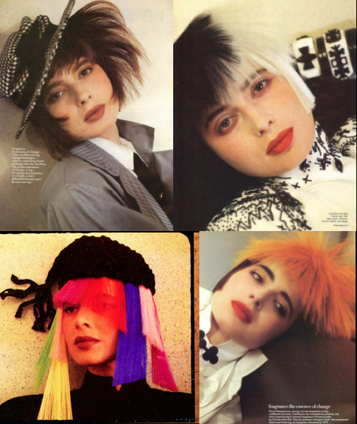 Madly Chic Hair by John Sahag for Vogue – '80s