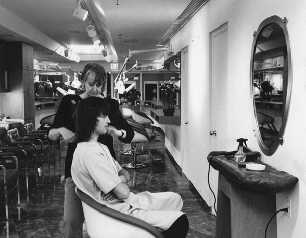 Helen Cuts John Sahag's Hair! - 1985