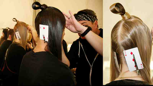 Samurai Warrior Hair Loops #NYFW – 2015