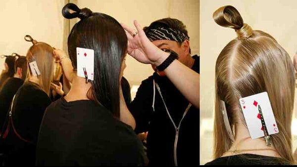 Samurai Warrior Hair Loops #NYFW – 2015