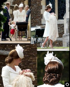 Princess Charlotte Christening Chic - 2015