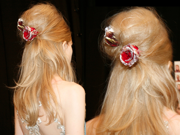 Divine Modern Bouffants With Ornate Roses - 2015