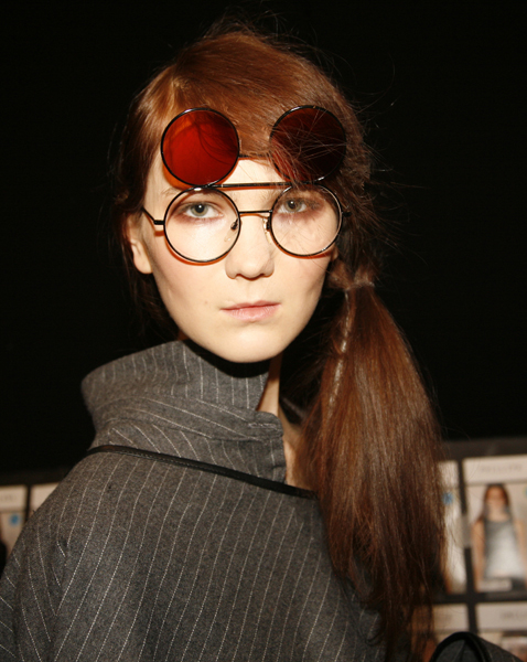 Retro-Style Flip Sunglasses #NYFW Fall – 2015