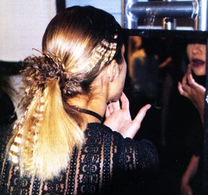 Crimped, Innovative Hair At #NYFW Fall – 2002