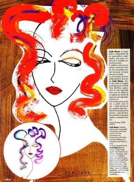 Linda Mason Makeup Artist Extraordinaire - 1992