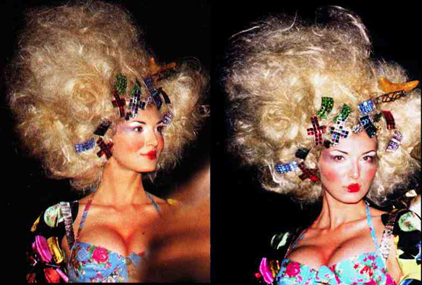 Big Hair Accessorized with Fashion Savvy –  90s