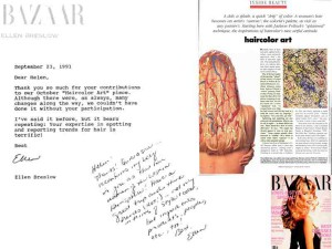 "Memory. My Bazaar ""Haircolor Art"" Piece - 1991"